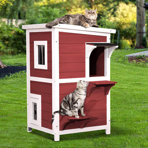 5 Best Cat House For 2021 Tested Reviewed