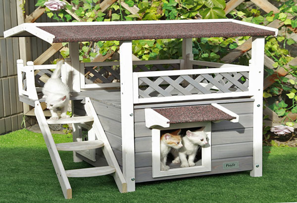 Petsfit Outdoor Cat house