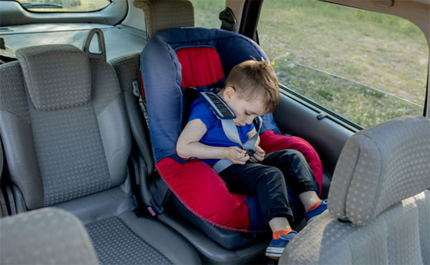 How do I keep my baby safe in the car seat