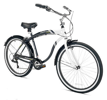 Types of cruiser bicycles