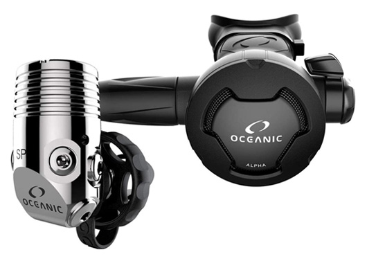 Scuba regulator set