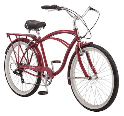 Cruiser bike with gears