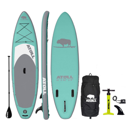 fishing paddle board with motor