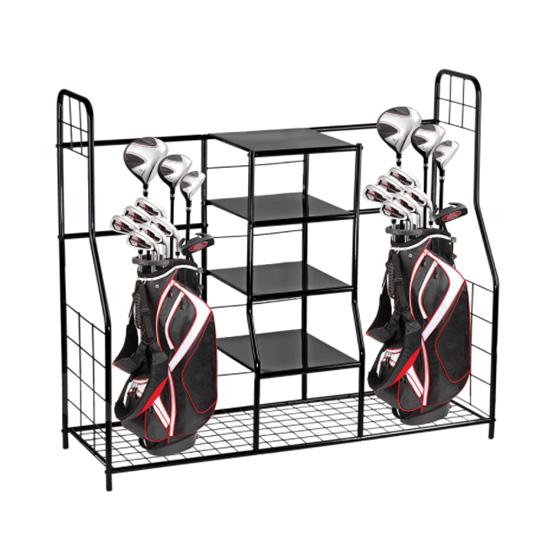 Golf club storage container