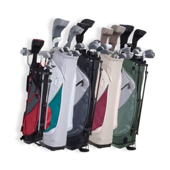How should I organize my golf bag