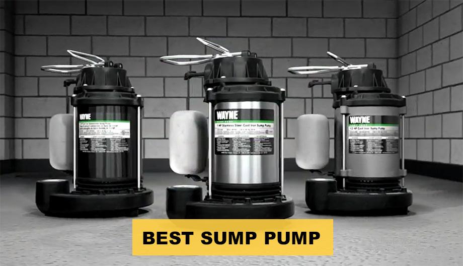 Best Sump Pump