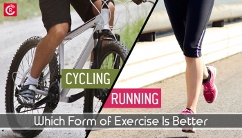 Cycling vs. Running: Which Form Of Exercise Is Better?