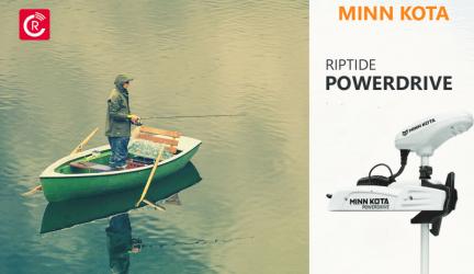Minn Kota Riptide PowerDrive Trolling Motors