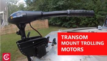 Transom Mount Trolling Motors